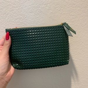 NEVER USED IPSY textured green bag